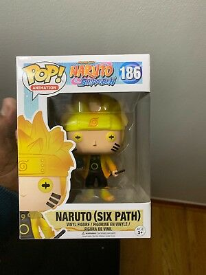 Funko POP! Naruto Six Path (Glow in the Dark) GITD HOT TOPIC EXCLUSIVE