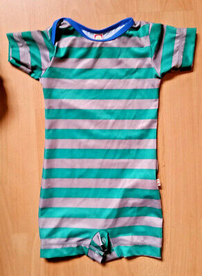 9 - 18 months Katvig Baby UV protective Swimsuit Green Stripes Swimwear 80/86cm