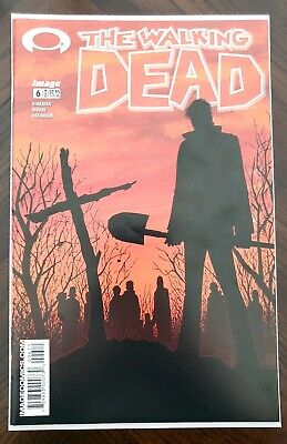 WALKING DEAD #6 Death of Shane and Jim Tony Moore Cover