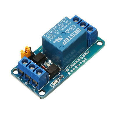 BESTEP 1 Channel 24V Relay Module High And Low Level Trigger For Arduino
