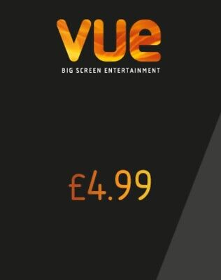 Two Vue Tickets For £9.98 (£4.99 each) & One Free Regular Popcorn - THREE CODES