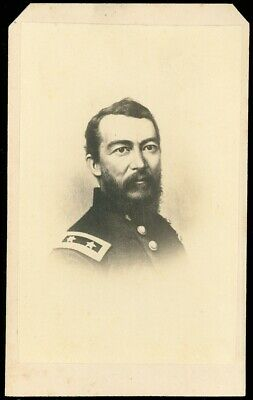 1860's CDV Carte de Visite, Union General PHILIP HENRY SHERIDAN, CIVIL WAR, More