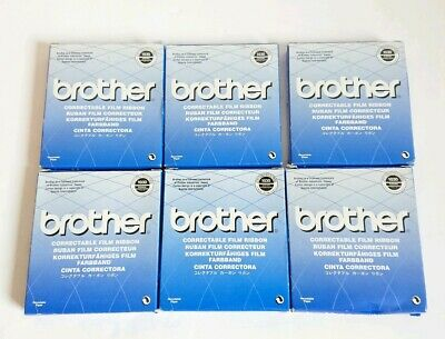 6 Brother 1030 Correctable Film Ribbon. FOR AX, LW, WP (except WP-1 Series)