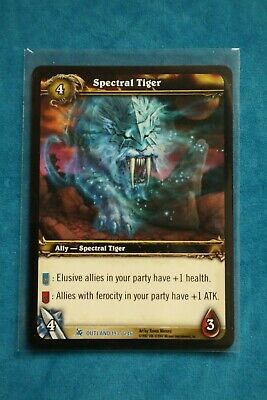 SPECTRAL TIGER LOOT Card World Warcraft Reins of the Swift Rare Epic
