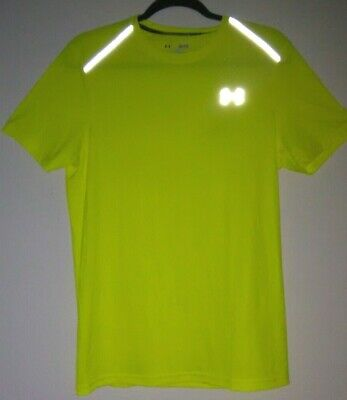 Under Armour CoolSwitch SS Run Shirt Men's Size Small Yellow NWT | $40