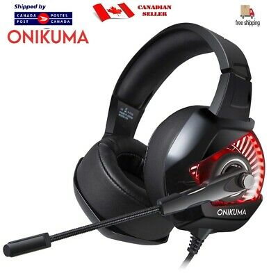 ONIKUMA K6 Gaming Headset for (ps4, x box1, switch, computer, iPhone)