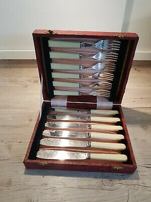 Vintage Boxed Set EPNS Fish Cutlery