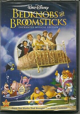 Bedknobs and Broomsticks -DVD - Enchanted Musical Edition - New and Sealed