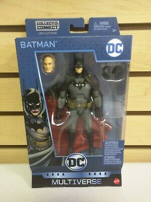 DC Multiverse Gotham by Gaslight Batman Action Figure with Lex Luthor BAF - NEW!