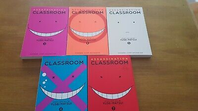 Assassination Classroom Manga Volumes 3-7