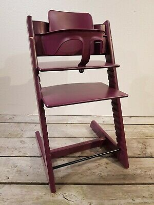 Stokke Tripp Trapp Purple With Babyset *** Suitable for Newborn ***