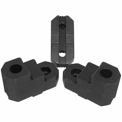 """H&R HR-10-MTGRJ Tongue & Groove 2 Step Reversible Hard Jaws for 10"""" Chuck"""