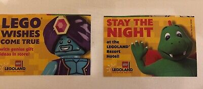 2x LEGOLAND WINDSOR TICKETS THURS 20th June 2019 - ADULT OR CHILD ENTRY.