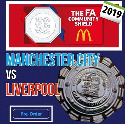 Liverpool V Man City 2019 Community/Charity  Shield Final Official Programme