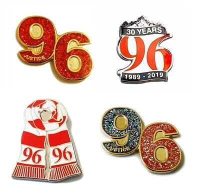 Liverpool Pin Badge Selection Justice For 96