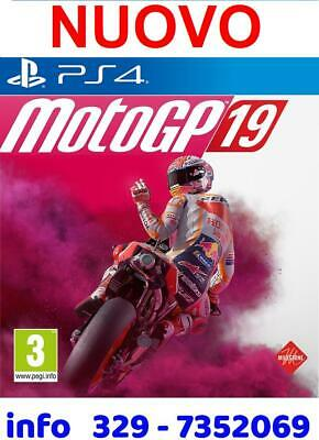 ✔ Motogp 19 Ps4 - Motomondiale 2019 Playstation 4 * Nuovo New * Videogioco