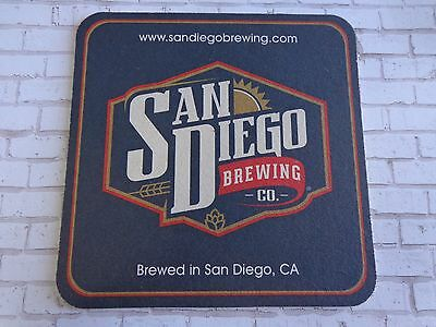 Beer Brewery Coaster ~ SAN DIEGO Brewing ** Add'l Coasters $0.25 S&H Worldwide