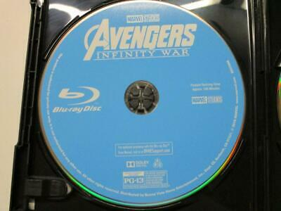 Avengers: Infinity War (Blu-ray Disc, 2018) 1 Disc Only Never Viewed NO CASE