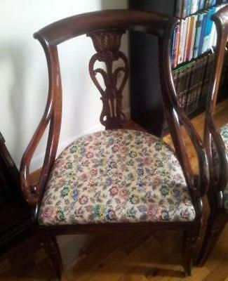 4 Vintage Italian Dining Chairs