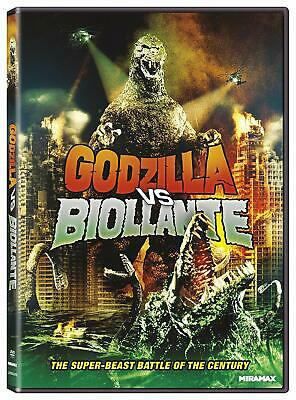 Godzilla Vs. Biollante (DVD, 2012) OOP NEW & SEALED