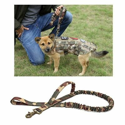 Retractable Waterproof Pets Leashes Army Tactical Extensible Quick Release Leash
