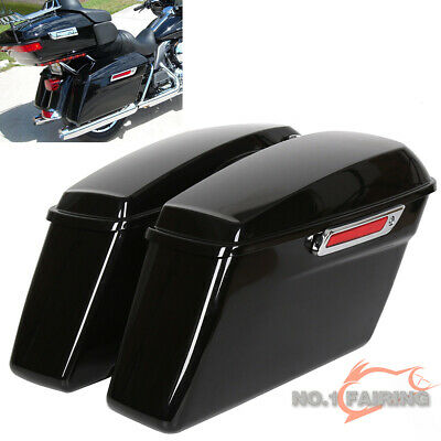 Complete Hard Saddlebags For Harley Touring Road King Electra Glide 14-19 2014
