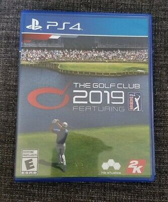 The Golf Club 2019 Featuring PGA Tour PS4 Sony Playstation 4