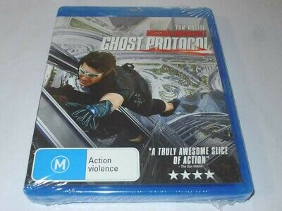 Mission Impossible - Ghost Protocol (Blu-ray, 2012)