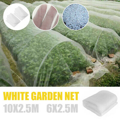 10*2.5M Garden Insect Netting Veg Mesh Orchard Crop Net Plant Protect Cover AU