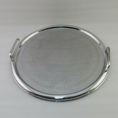 Ranleigh Stainless Steel Art Deco Carry Tray - Australian Made