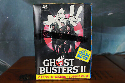 Ghostbusters 2 Trading Card Box with 36 packs Topps 1989