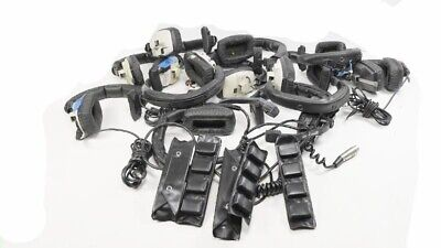 Lot of (12) Beyer Dynamic DT-108 DT-102 Mic Headphones Headsets