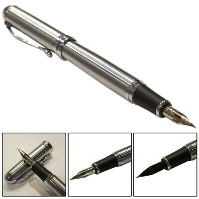 1pc Jinhao X750 Stainless Steel Fountain Pen Zebra G Flex Nib Calligraphy