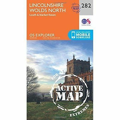 Lincolnshire Wolds North by Ordnance Survey (Sheet map, folded, 2015)