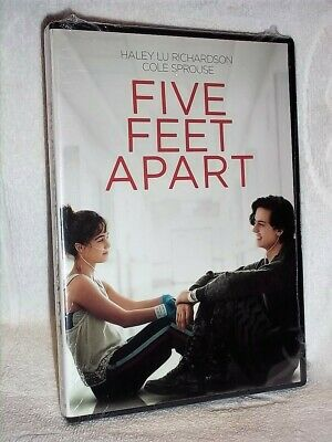 Five Feet Apart (DVD, 2019) NEW Cole Sprouse Parminder Nagra Claire Forlani