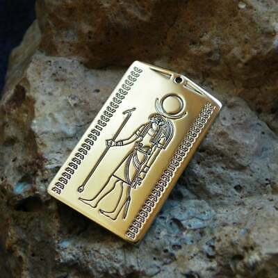 RA - God of the Sun jewelry, Ancient Egyptian, Egypt myth and culture amulet