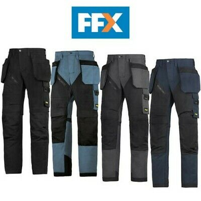 Snickers 6203 RuffWork Work Trousers Holster Pockets - Various Colours and Sizes
