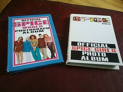 Official Spice Girls Photo Album × 2, spice world lots of photos ,signatures