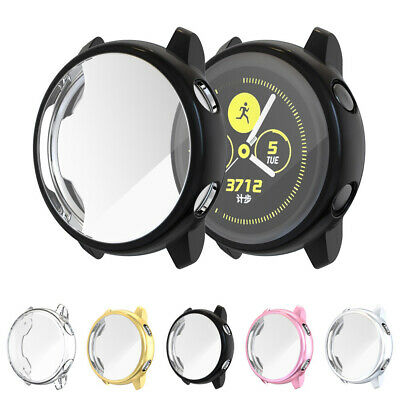 For Samsung Galaxy Watch Active 40mm Smart Watch Screen Protector TPU Case Cover