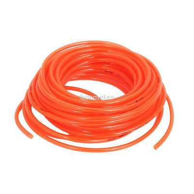 H● 18M 6x 4mm Dia Pneumatic Polyurethane PU Air Tube Tubing Pipe Hose.