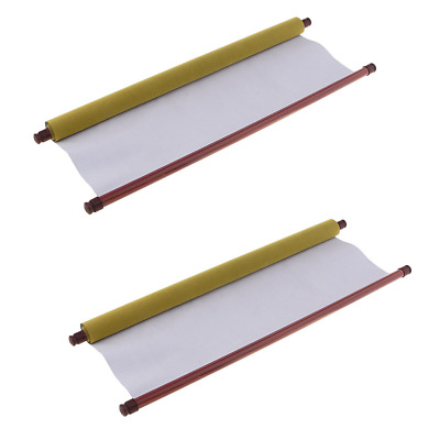 2Pcs Large Magic Water Writing Cloth Blank Mats Calligraphy Practice Supply