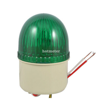 H● LTE-2071J Industrial Green Signal Lamp Buzzer Sound Alarm Warning Light.