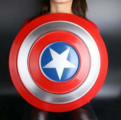 Captain America Shield Full Metal Shield Cosplay 47 cm