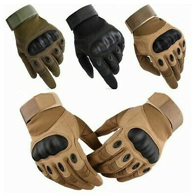 Military Tactical Full Finger Gloves Hunting Shooting Airsoft Combat Motorcycle