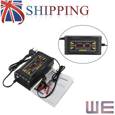 2019 Genuine 12V 6A Car Motorcycle LCD Smart Fast Lead-acid Battery Charger