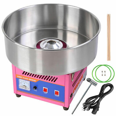Electric Fairy Floss Machine Cotton Candy Sugar Maker Candy Party Home DIY Pink