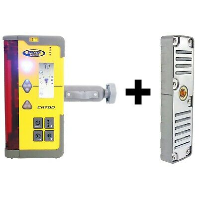 Spectra Precision CR700 heavy duty, magnetic laser level DETECTOR & staff clamp
