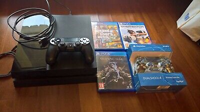 Sony Playstation  Ps4 Consolle Con 3 Giochi 2 Controller