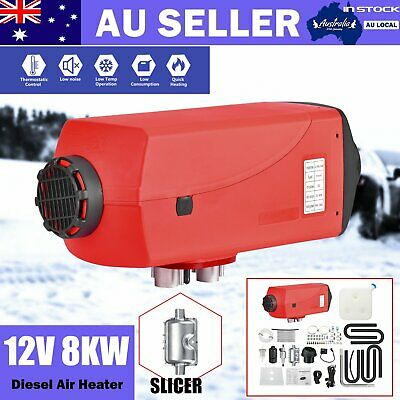 Diesel Air Heater 12V 8KW Remote Control Convenient Adjustable RV Caravan AUS