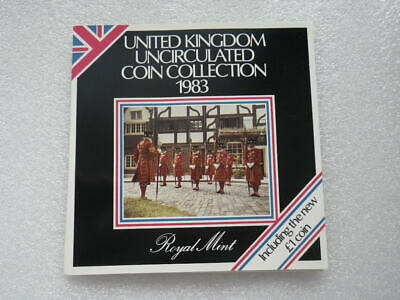 Great Britain 1983 Uncirculated Coin Set